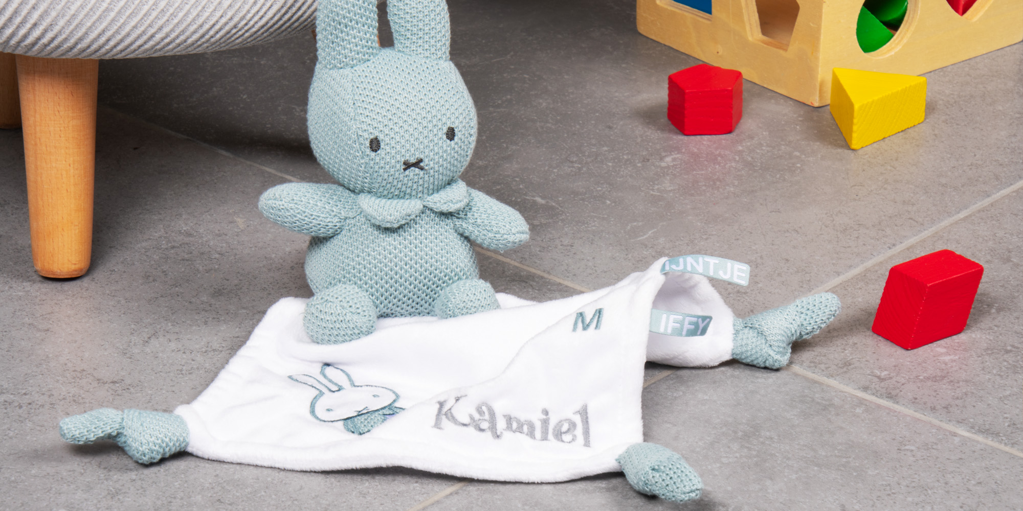 Embroidered Miffy toy